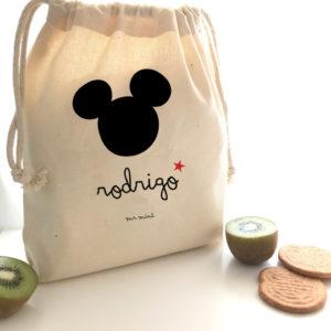 mochila ratoncito mickey personalizada