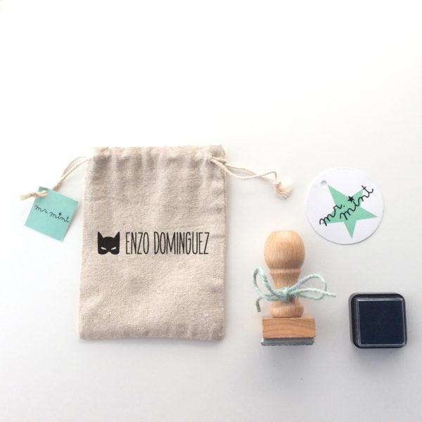 sello personalizado MrMint infantil ropa