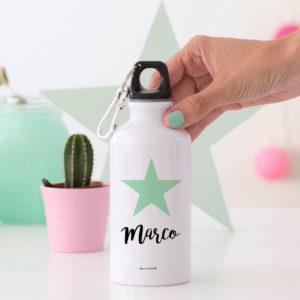 regalo bote personalizado Mrmint estrella