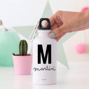 regalo bote personalizado Mrmint inicial nombre