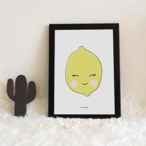 lamina personalizada infantil MrMint limon