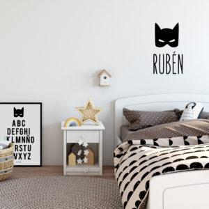 vinilos personalizado MrMint infantil habitacion ninos