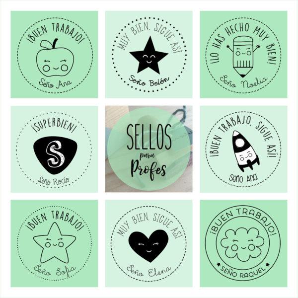 sellos profes maestros personalizados Mrmint