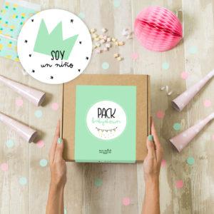 pack babyshower personalizada Mrmint