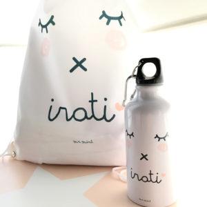 pack cole mochila bote personalizado Mrmint