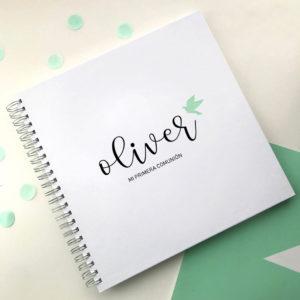 libro comunion personalizado Mrmint
