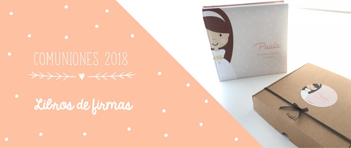 libro comunion personalizados Mrmint