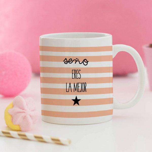 regalo taza personalizada Mrmint profe