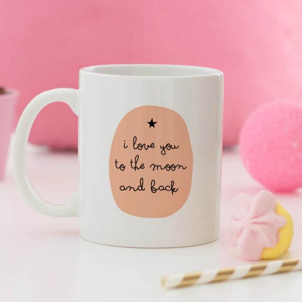 regalo taza personalizada Mrmint moon