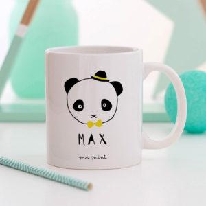 regalo taza personalizada Mrmint panda