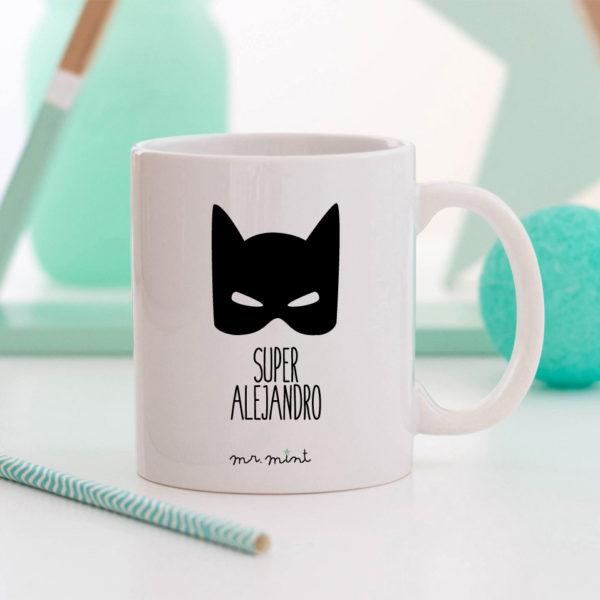 regalo taza personalizada Mrmint batman