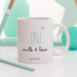 regalo taza personalizada Mrmint milk