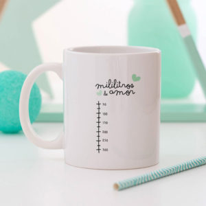regalo taza personalizada Mrmint mililitros amor
