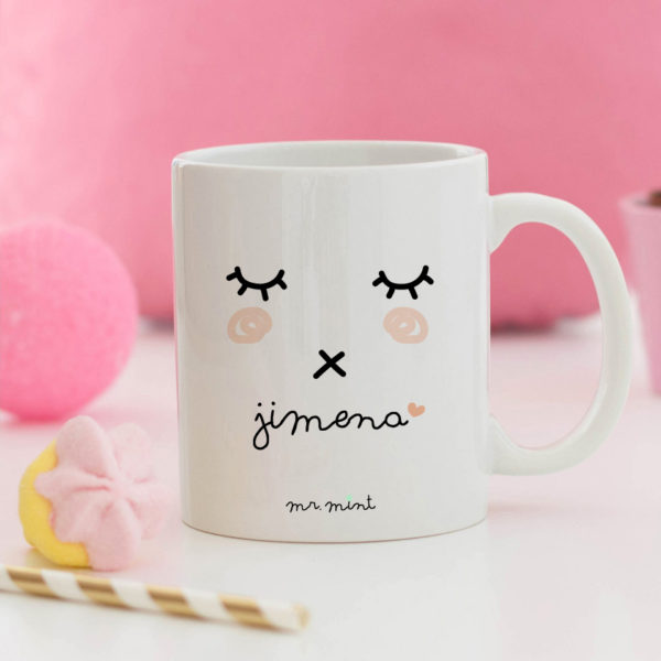 regalo taza personalizada Mrmint pestanas