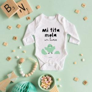 body personalizado MrMint recien nacido tita