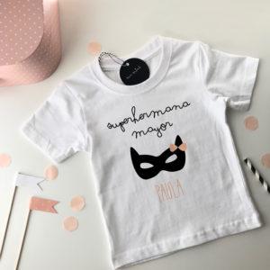 camiseta personalizada hermana mayor Mrmint