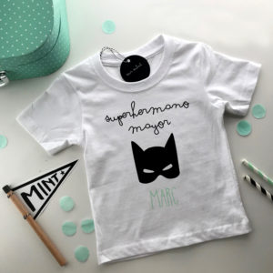 camiseta personalizada hermano mayor Mrmint