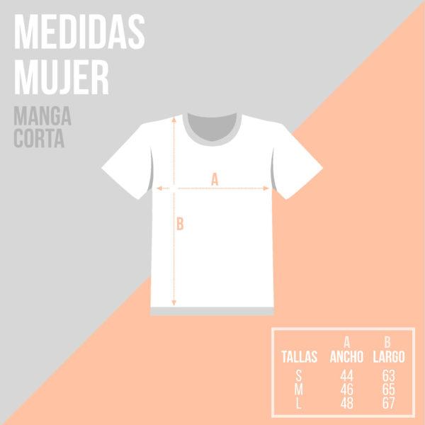 camiseta personalizada medidas Mrmint