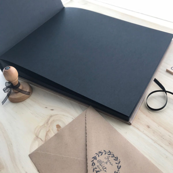 libro boda kraft personalizado Mrmint