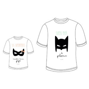 camiseta personalizada Mrmint papa hijo