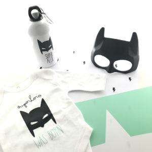 pack nacimiento regalo batman body personalizado Mrmint