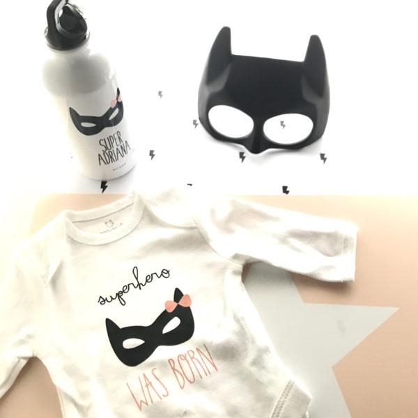 pack recien nacido batman Mrmint regalo personalizado