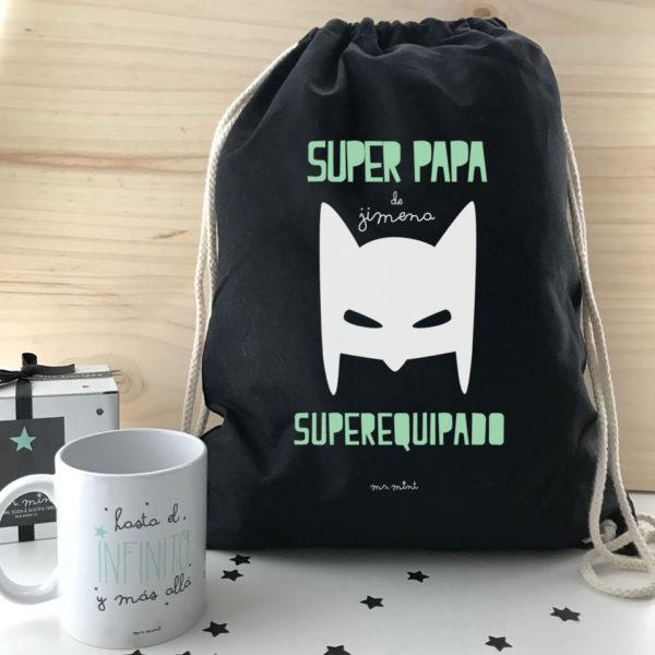 mochila parque regalo dia padre personalizado
