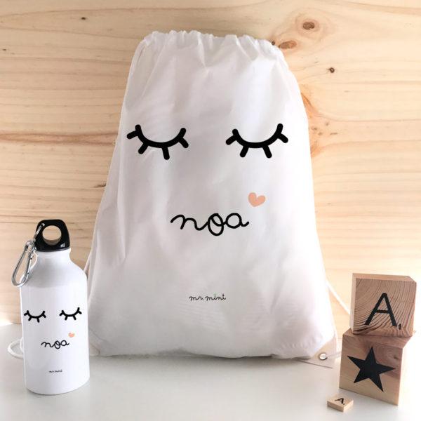 regalo mochila personalizado Mrmint pestanas