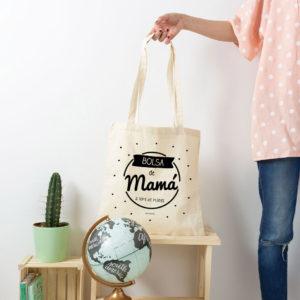 bolsa mama algodon personalizada