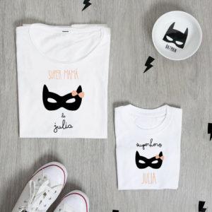 camiseta madre hija personalizada batman
