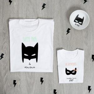 camiseta padre hija personalizada batman