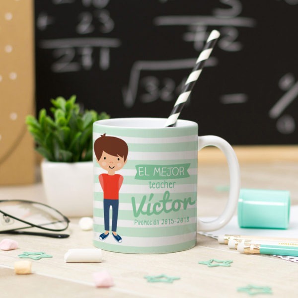 regalo profesores fin curso personalizado