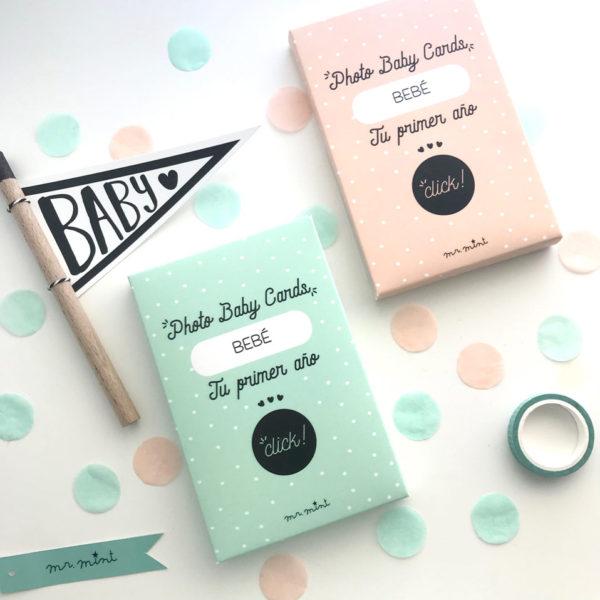Tarjetas baby cards personalizadas