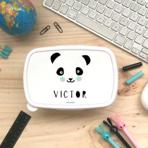 tupper cole personalizado panda mint