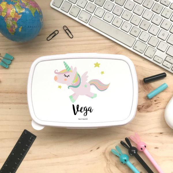 tupper cole personalizado unicornio