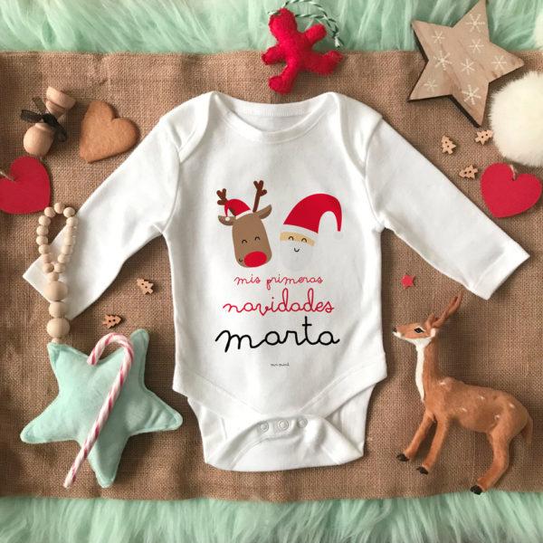 body personalizado primera Navidad