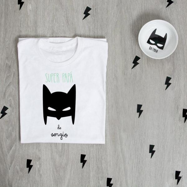 camiseta personalizada papa batman