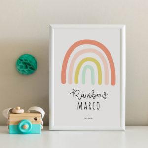 lamina arco iris personalizada MrMint