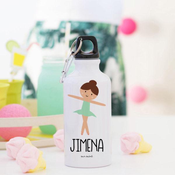 botella aluminio danza mrmint personalizado