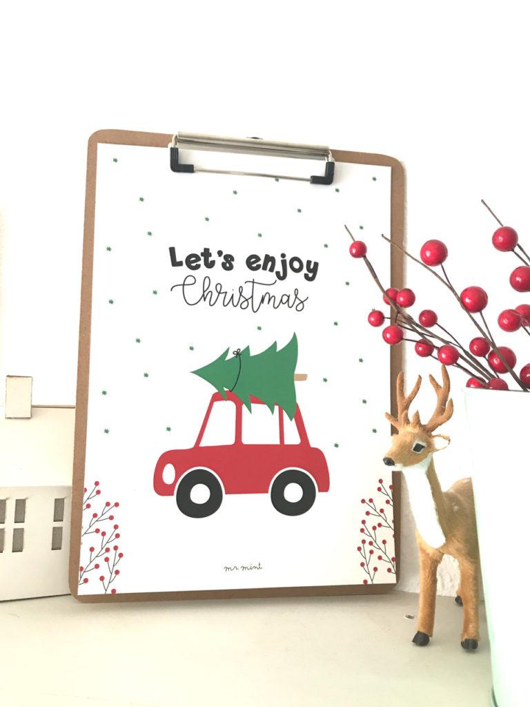 Lamina descargable gratis MrMint Christmas
