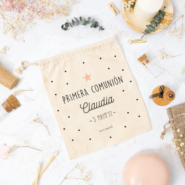bolsa primera comunion personalizada MrMint