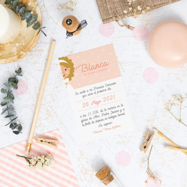 invitaciones comunion personalizadas Mrmint