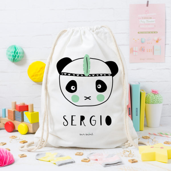 MrMint mochila personalizada panda brave