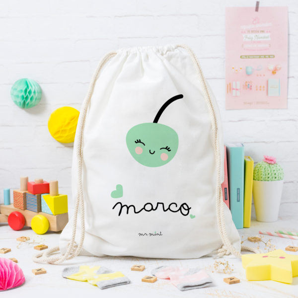 MrMint mochila personalizada cereza