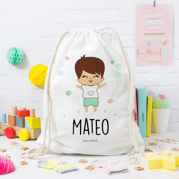 MrMint mochila personalizada niño