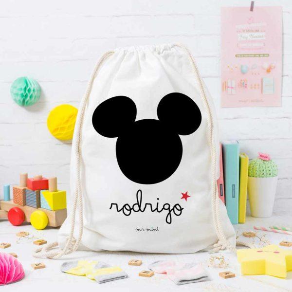 MrMint mochila personalizada ratoncito