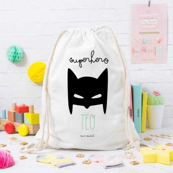 MrMint mochila personalizada batman