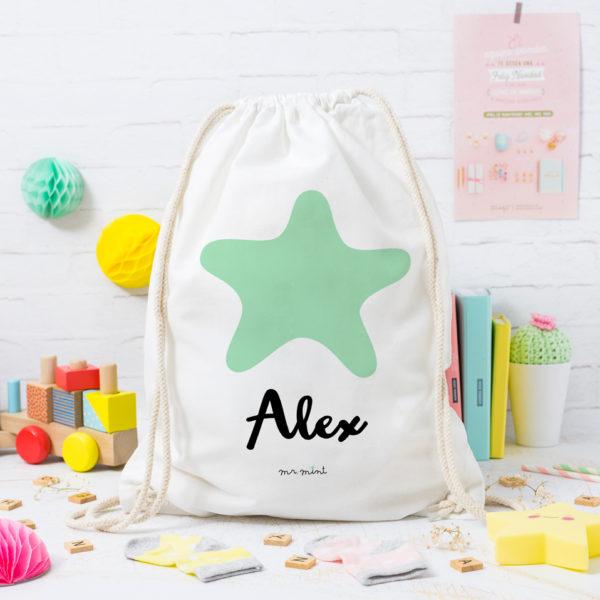 MrMint mochila personalizada estrella