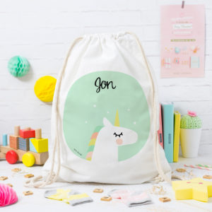 mochila unicornio personalizada MrMint