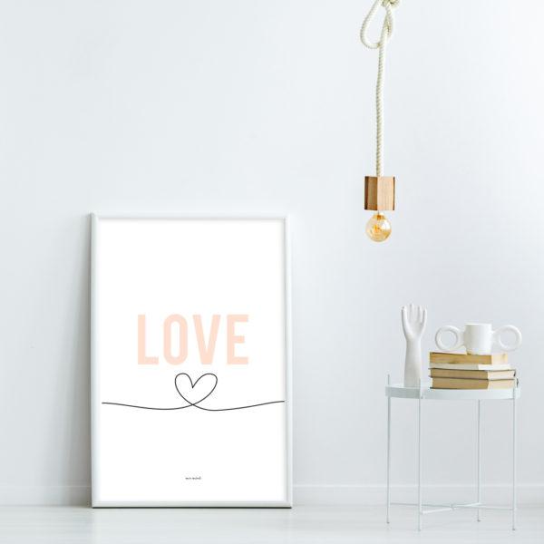 lamina personalizada love MrMint